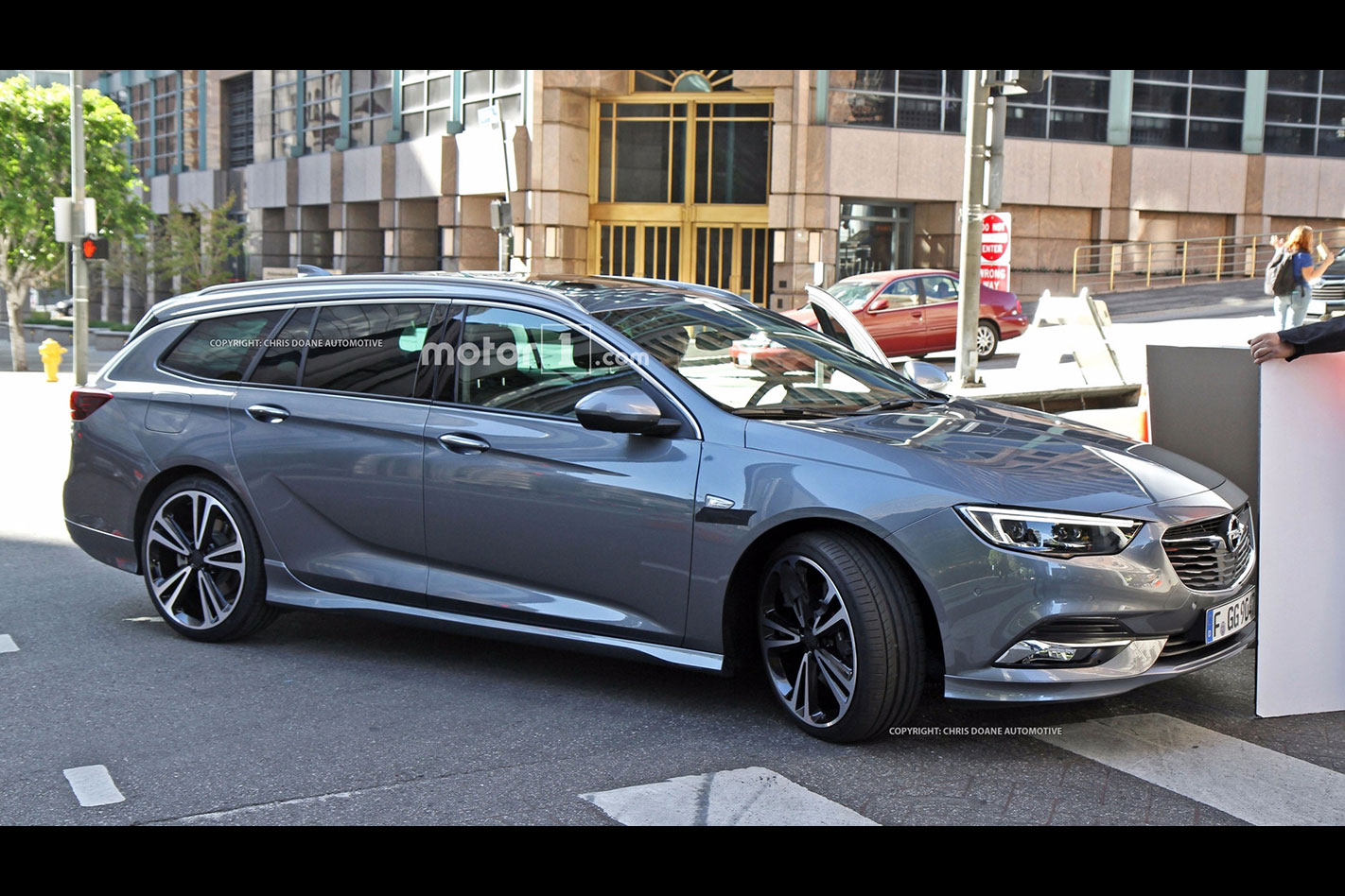 2018 Holden Commodore spied wagon