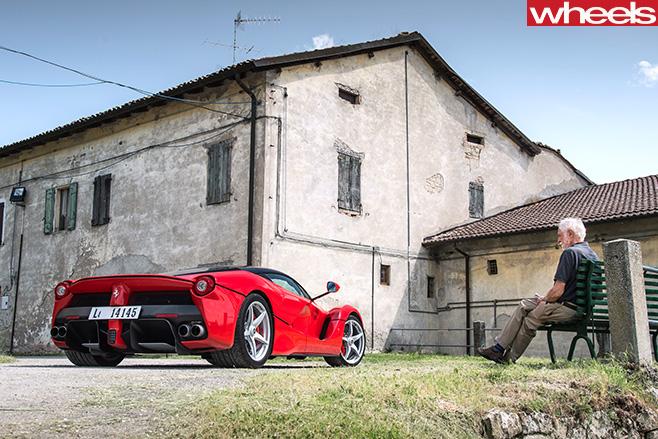 Ferrari -Enzo -parked