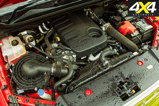 Ford Ranger XLT engine