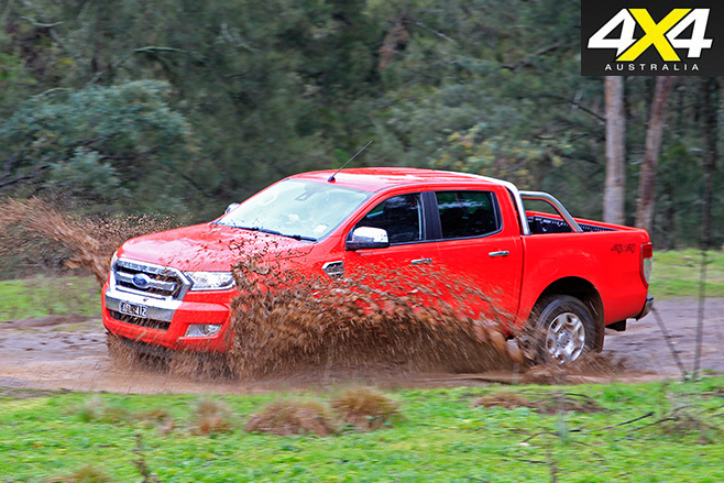 Ford Ranger driving side