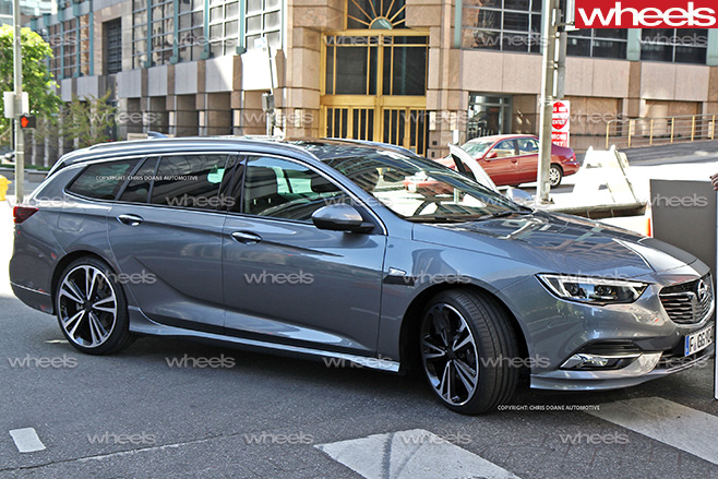 Insignia Vxr 2018 >> 2018 Holden Commodore: Under the skin