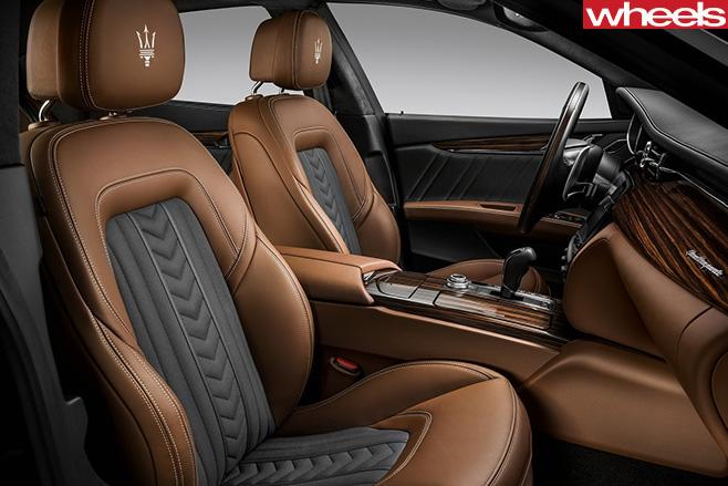 2017-Maserati -Quattroporte -interior
