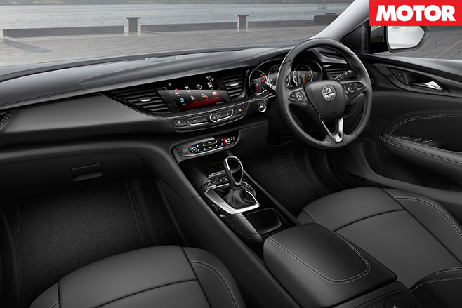 2018 Holden NG Commodore interior