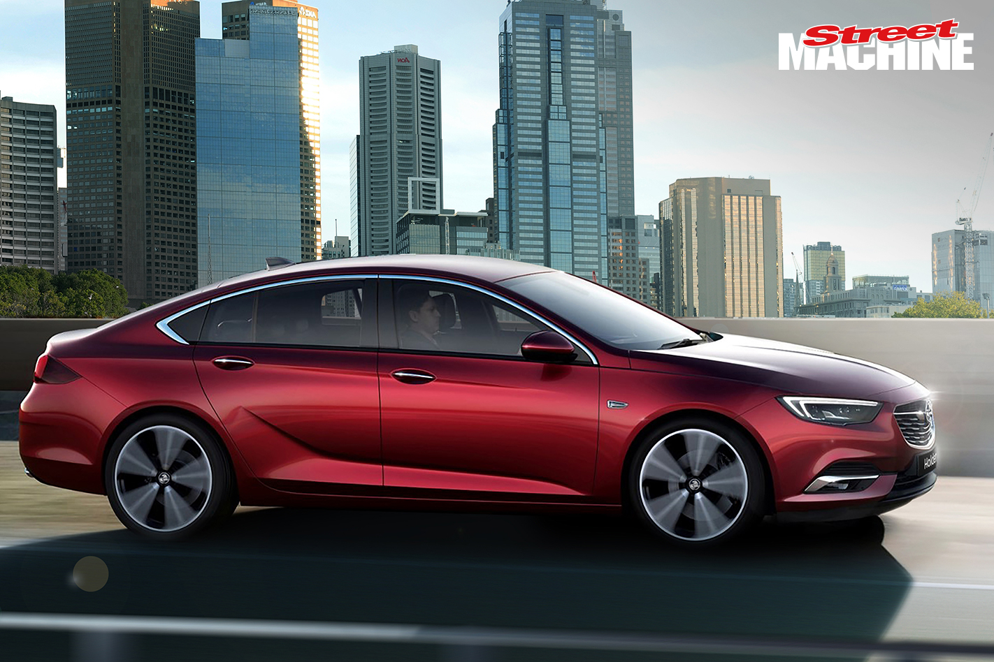 2018 Holden Commodore Side
