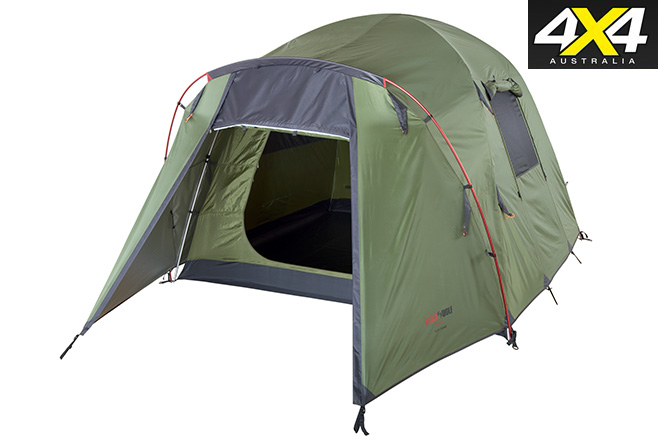 Black -Wolf Tuff dome tent