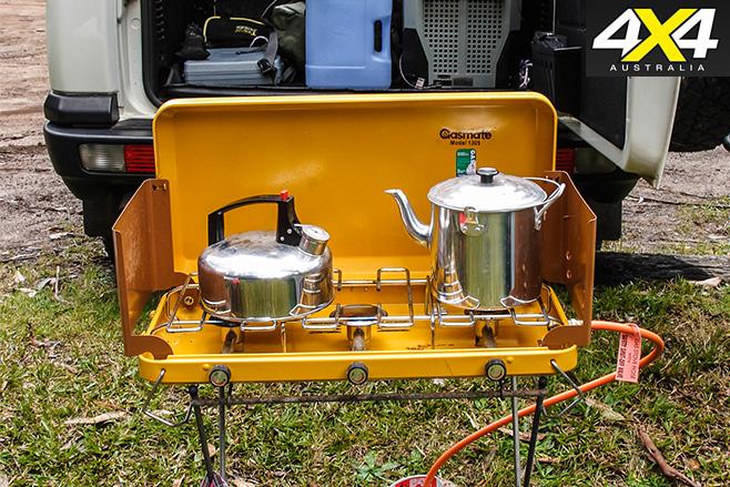 Gasmate 3 burner stove