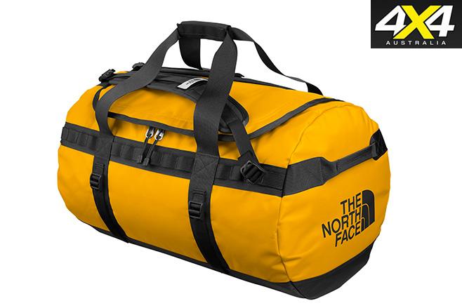 North -face -duffel -bag -yellow