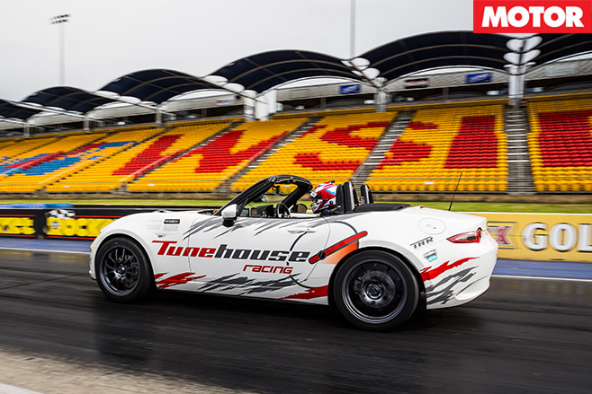 Tunehouse Mazda MX-5 ND side driving