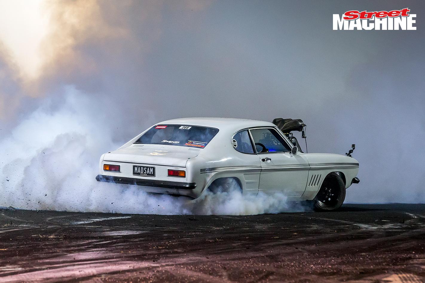 Ford Capri Blown Burnout MADSAM