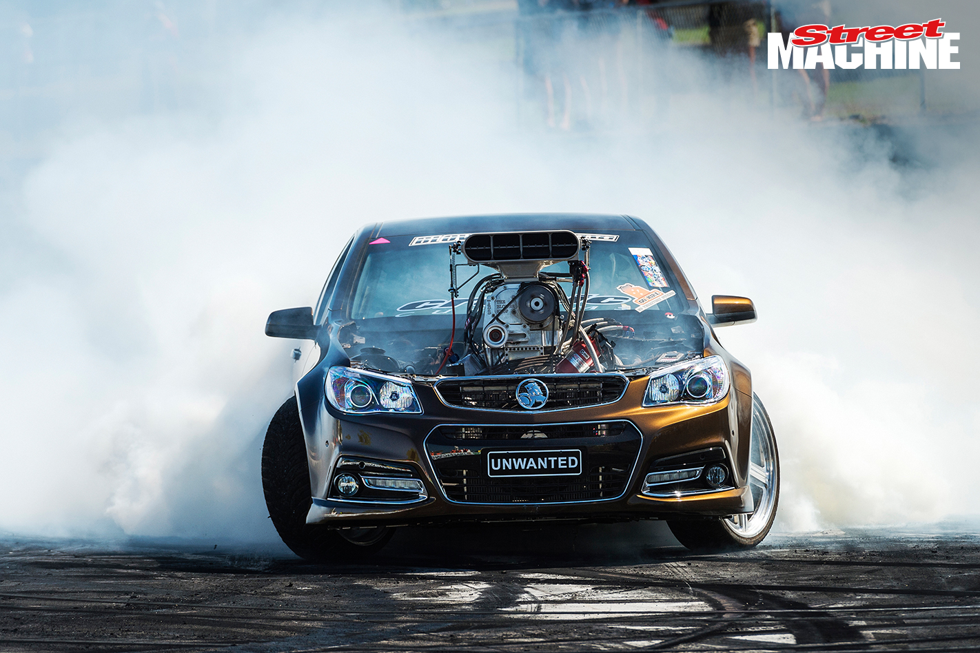 VF Commodore Ute Blown Burnout UNWANTED