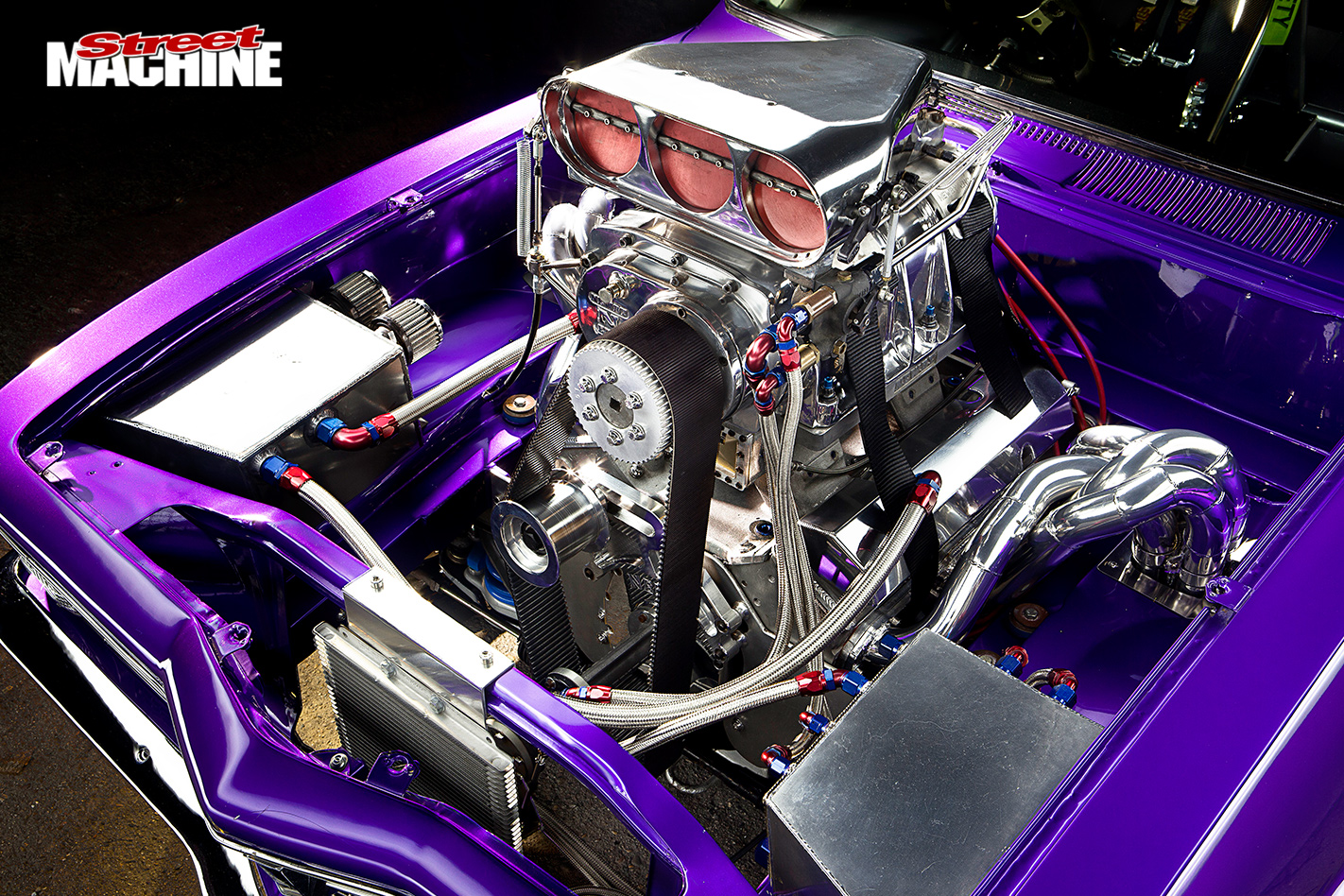 Holden -lc -torana -engine -bay