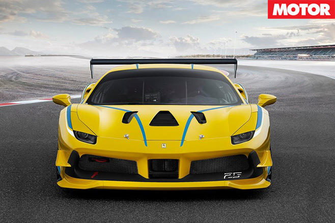 2017-Ferrari -488-Challenge -racer -front