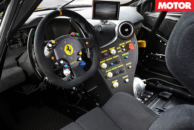 2017-Ferrari -488-Challenge -interior