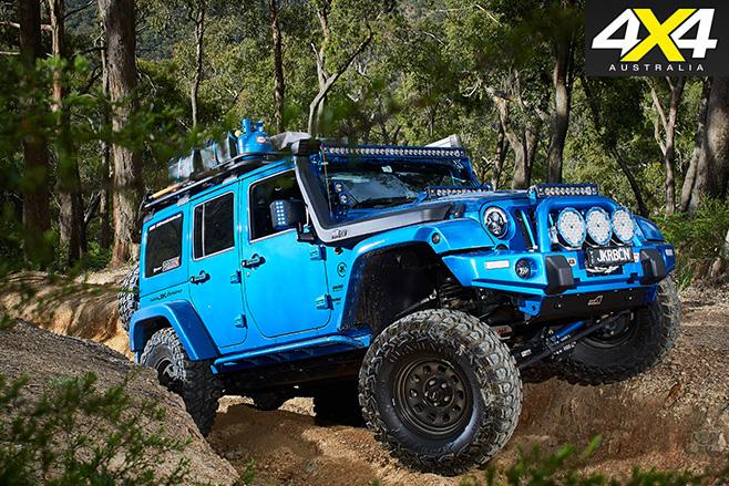Feeling Blue Jeep Wrangler