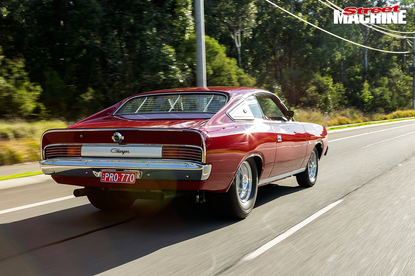 Chrysler -cl -charger -onroad -rear