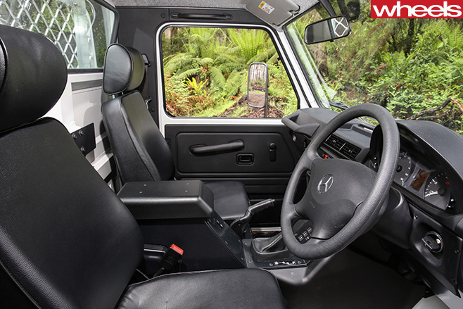 2017-Mercedes -G300-G-Professional -interior