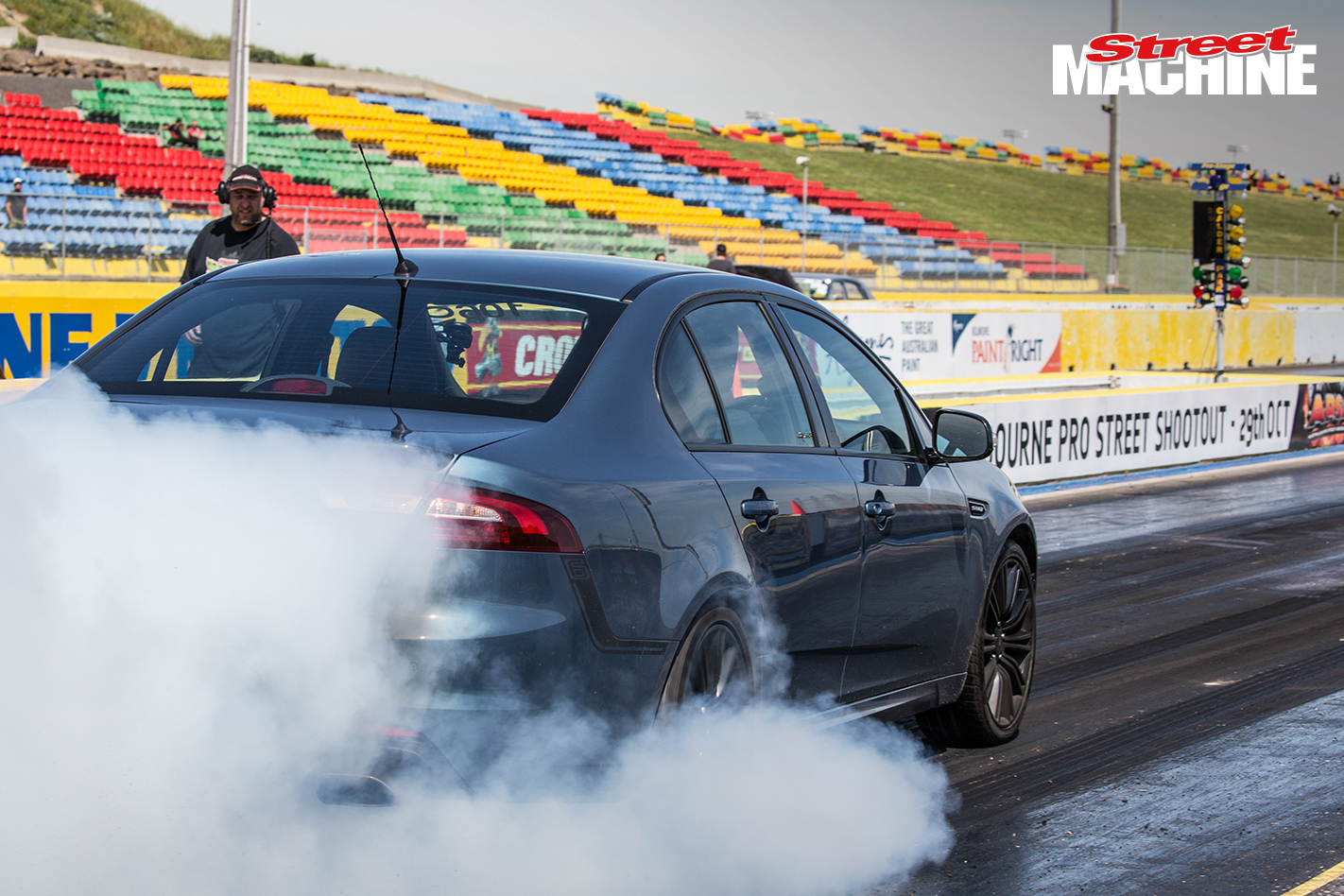 Ford Falcon XR6 Sprint Burnout 2