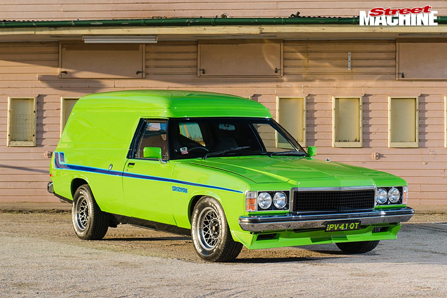 Holden -hz -sandman -front -angle