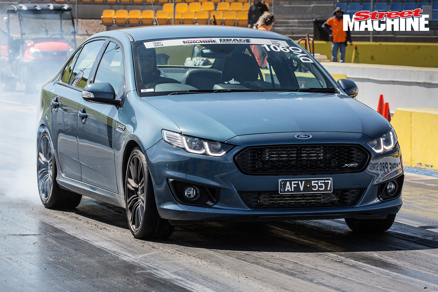 Ford Falcon XR6 Sprint Drag Challenge 3