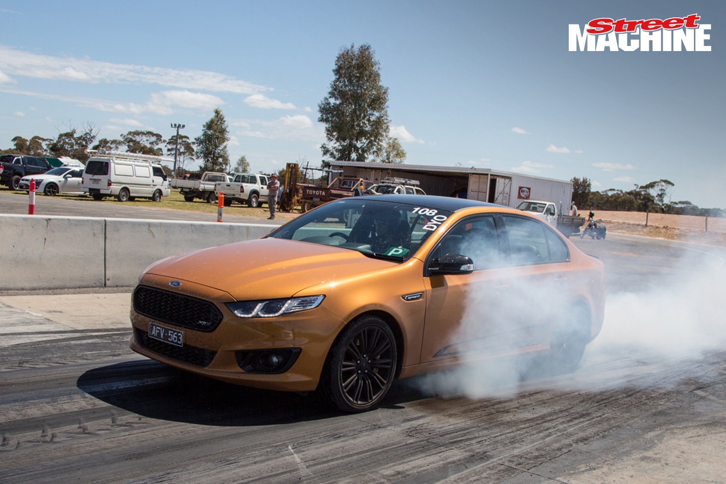 Ford Falcon XR8 Sprint Burnout 3