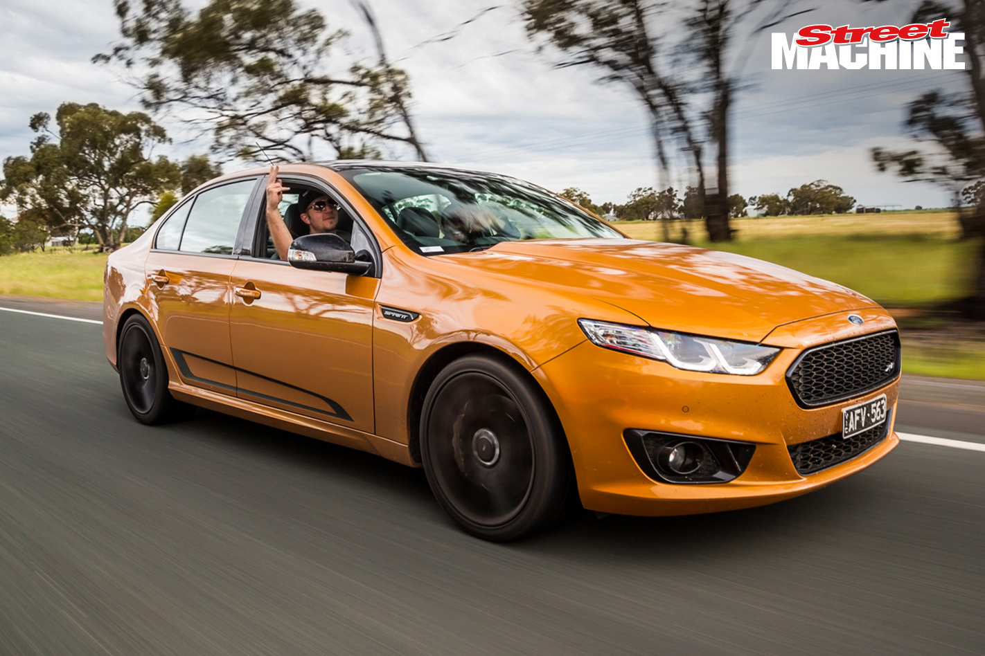 Ford Falcon XR8 Sprint Drag Challenge 2