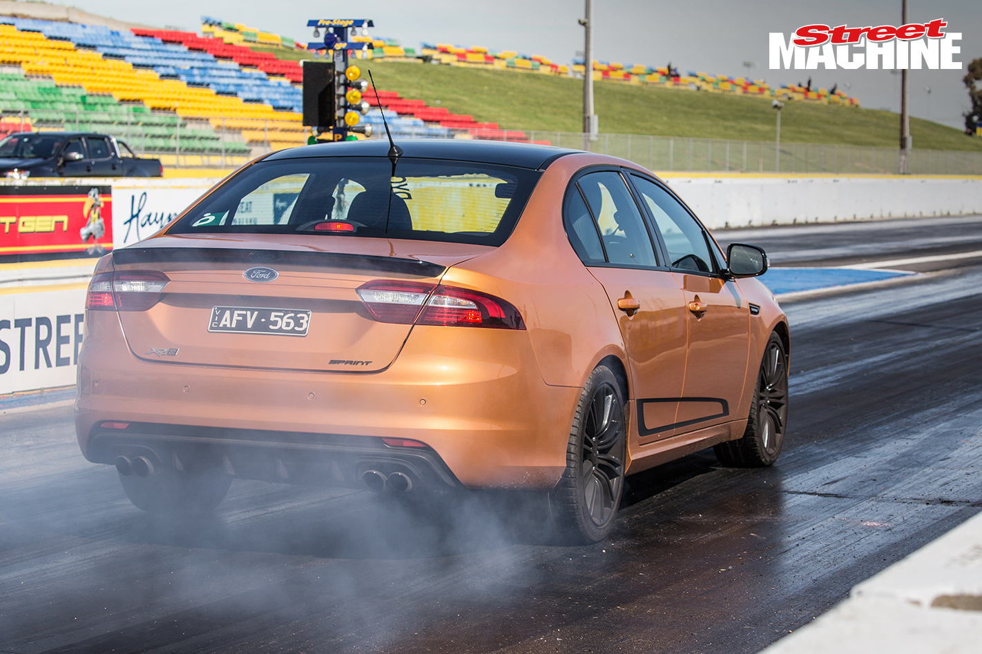 Ford Falcon XR8 Sprint Drag Challenge 3