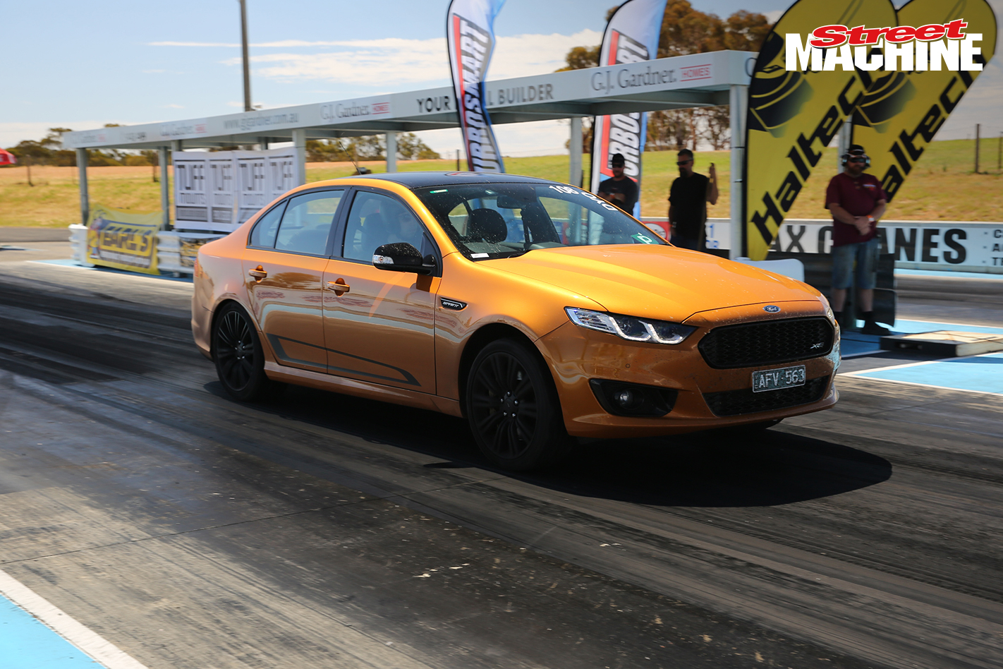 Ford Falcon XR8 Sprint Drag Challenge 4