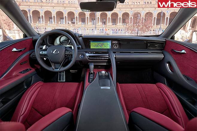2016_Lexus _LC500h -Interior