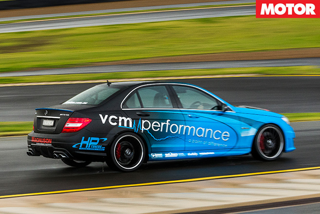 VCM Performance Mercedes-AMG C63 rear driving