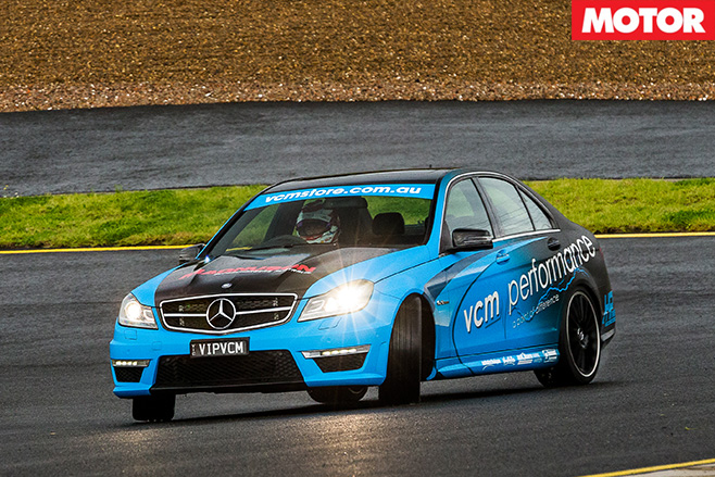 VCM Performance Mercedes-AMG C63 driving