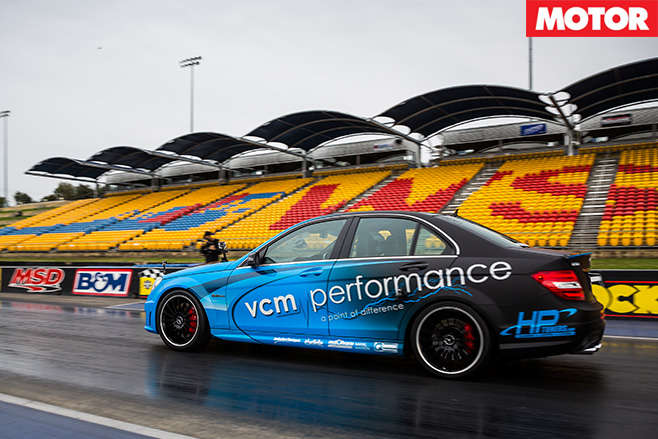VCM Performance Mercedes-AMG C63 take off