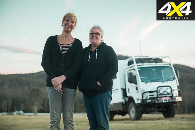 Queenslanders Ali and Sally