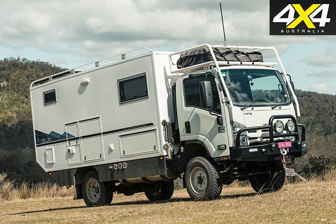 SLR adventurer 4x4 driving