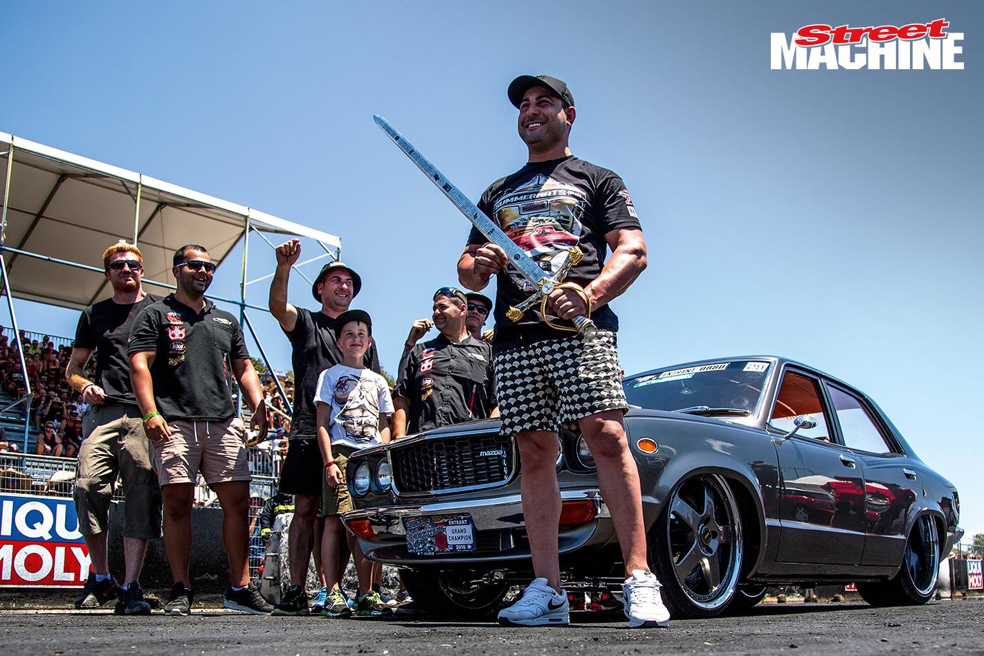 Summernats Grand Champion Mazda RX3