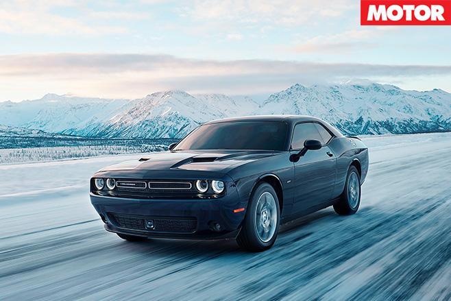 Dodge Challenger gets AWD option driving side