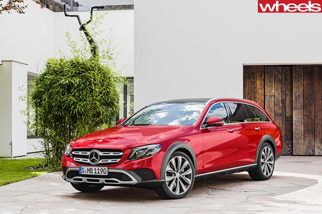 Mercedes -Benz -E-Class -All -Terrain -2017-front -side -still