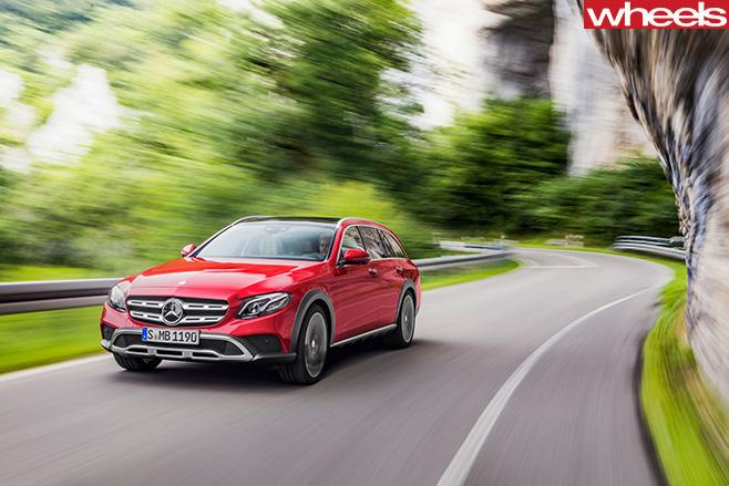 Mercedes -Benz -E-Class -All -Terrain -2017-front -side -dynamic