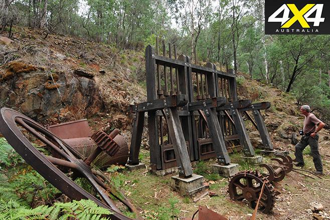 Wallaby mine stamper