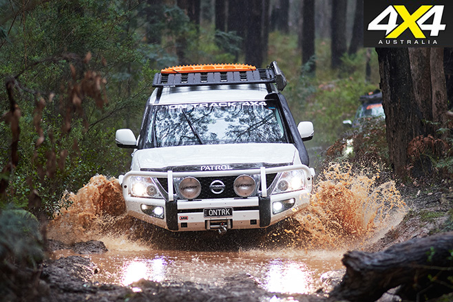 Supercharged -Nissan -Patrol -Y62-water