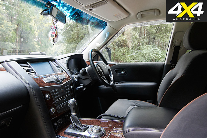 Supercharged -Nissan -Patrol -Y62-interior