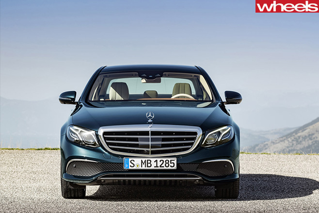 Mercedes -Benz -E-Class -Front -Detroit