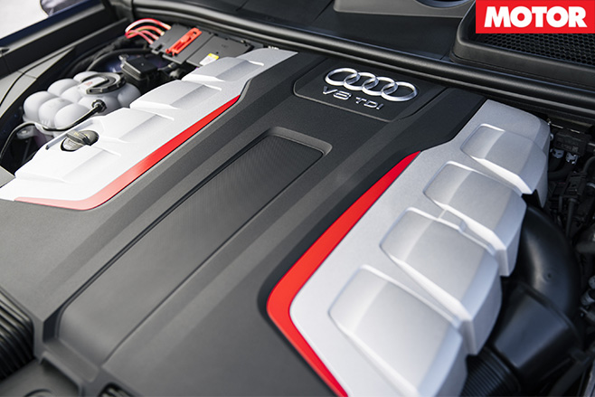 2017 Audi SQ7 TDI engine