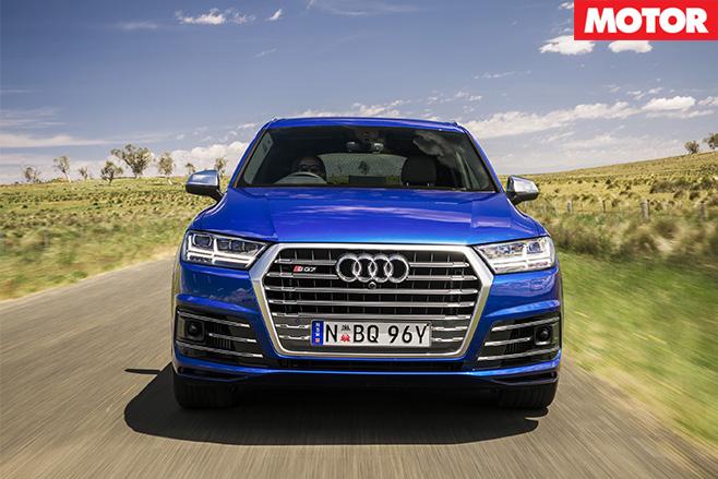 2017 Audi SQ7 TDI front