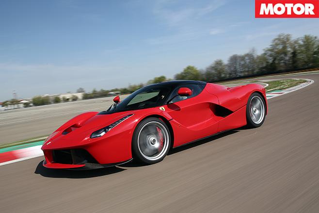 Ferrari laferrai side