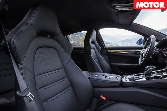 2016-Porsche -Panamera -Turbo -Review -interior