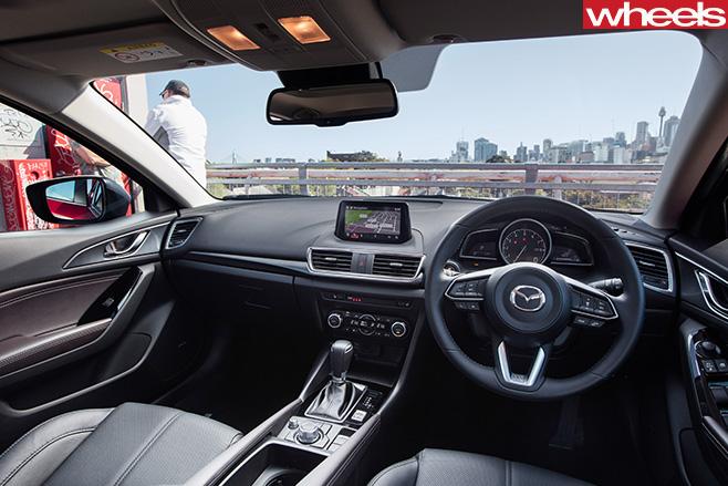 2016-Mazda -3-SP25-Astina -interior