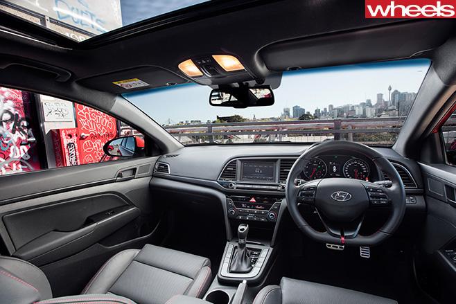 2016-Hyundai -Elantra -SR-interior