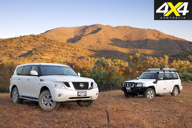 Nissan Patrol Y62 vs Legend Edition