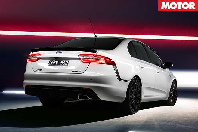 People 's -Performance -Car -of -2016-Ford -Falcon -XR6-Sprint -rear