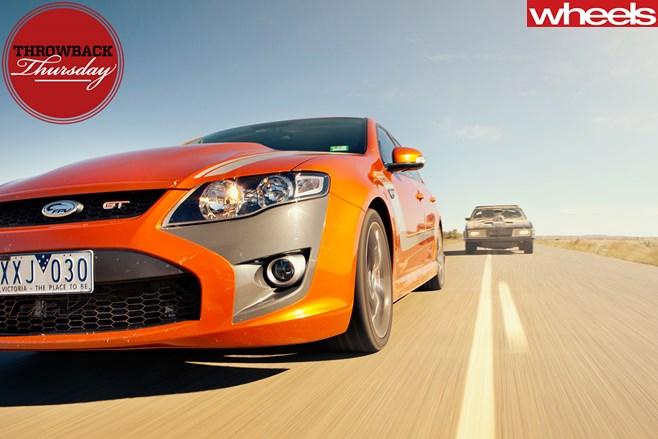 FPV-GT-vs -Mad -Max -Interceptor -driving -dirt -road